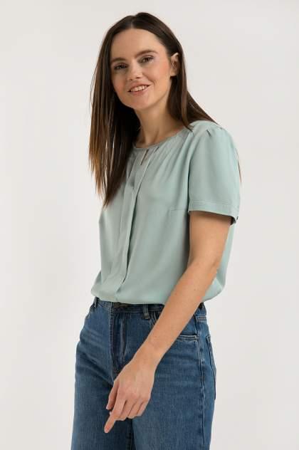 Блуза женская Finn Flare S20-110107 зеленая L