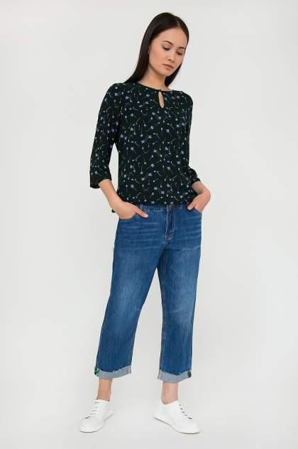 Блуза женская Finn Flare S20-110144 зеленая XL