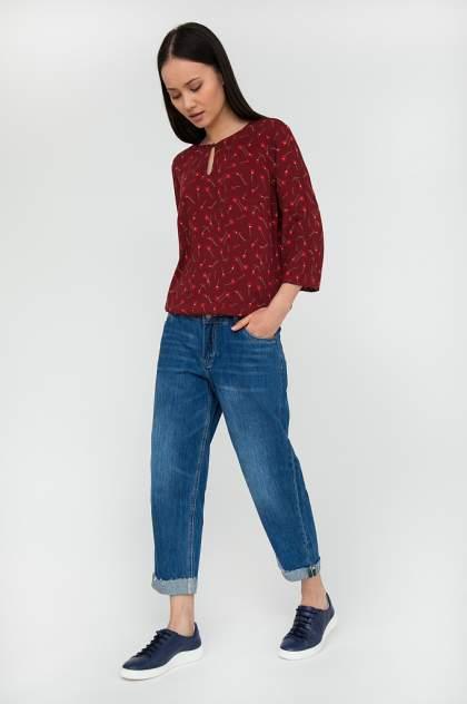 Блуза женская Finn Flare S20-110144 красная XL