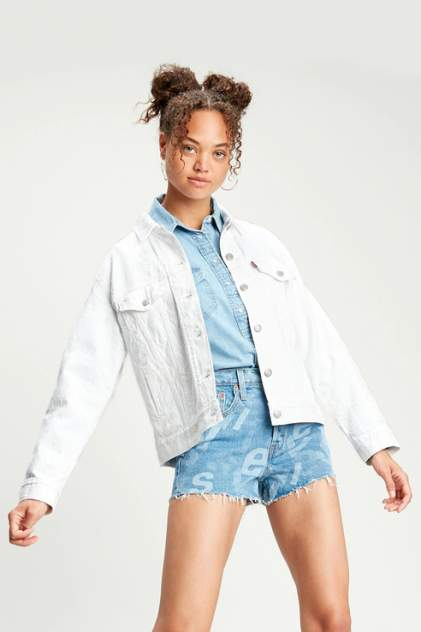 Джинсовая куртка женская Levi's 2994401080 белая S