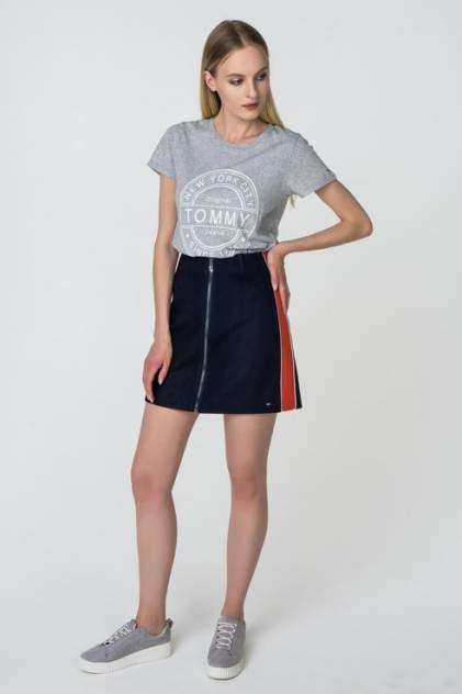Женская юбка Tommy Hilfiger DW0DW03654, синий