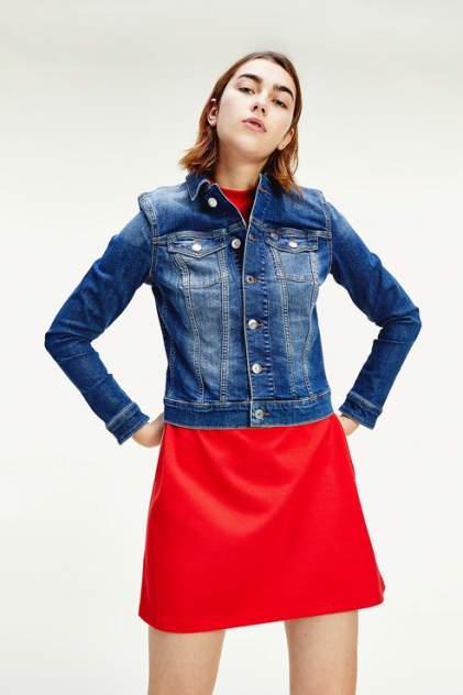 Джинсовая куртка женская Tommy Jeans DW0DW08152 голубая S
