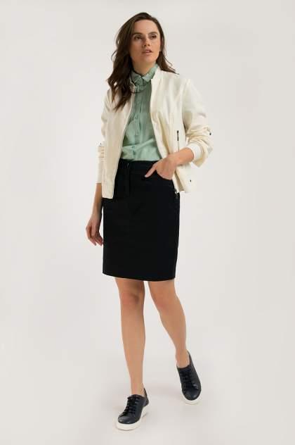 Блуза женская Finn Flare S20-32005 зеленая XXL