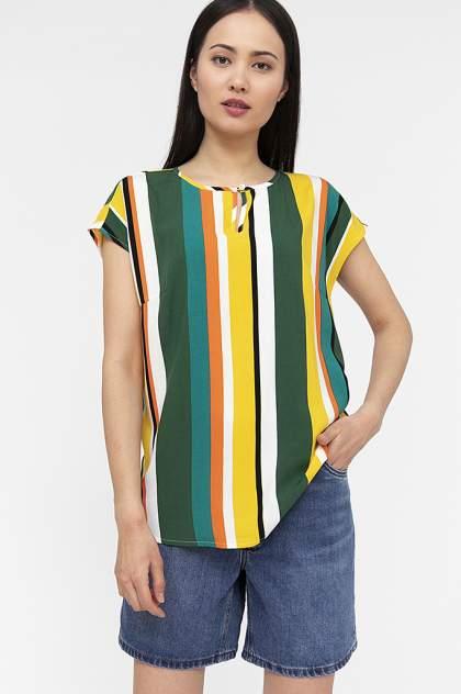 Блуза женская Finn Flare S20-32010 желтая XS