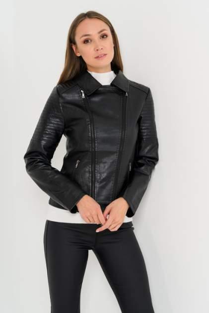 Женская кожаная куртка ELARDIS El_W60519, черный