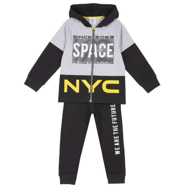 Спортивный костюм Chicco Space, для мальчика, р.104, цв. серый