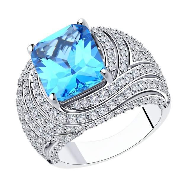 Кольцо женское SOKOLOV из серебра 94014558 р.18.5