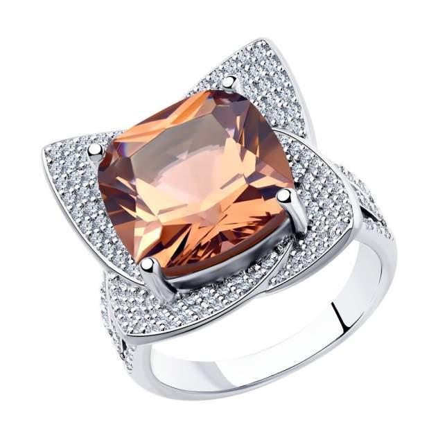 Кольцо женское SOKOLOV из серебра 94014563 р.19