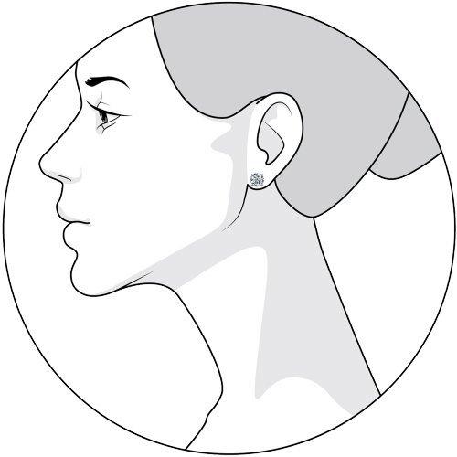 Серьги женские из серебра SOKOLOV 94021746, фианит