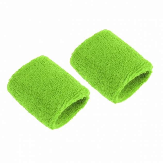 Напульсники спортивные 2 шт, цвет зеленый, 8х8 см, Atlanterra AT-WRLT-04