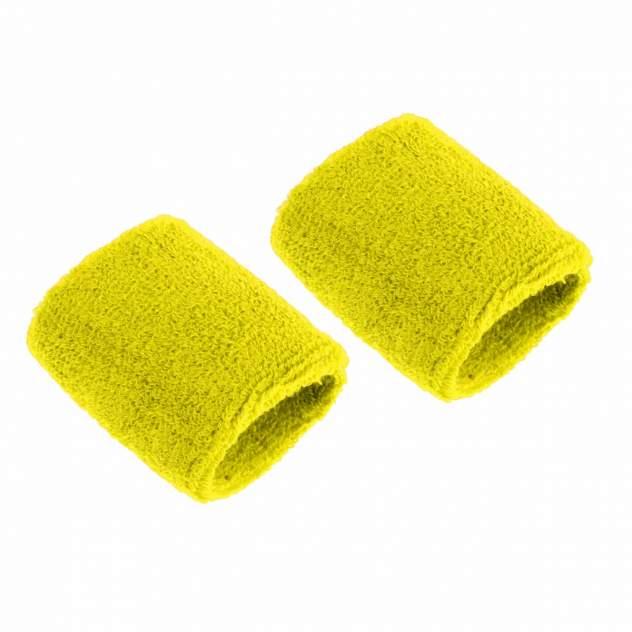Напульсники спортивные 2 шт, цвет желтый, 8х8 см, Atlanterra AT-WRLT-07