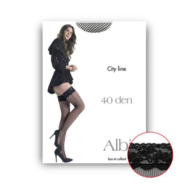 Чулки женские Pierre Cardin Cr ALBI0 черные 3