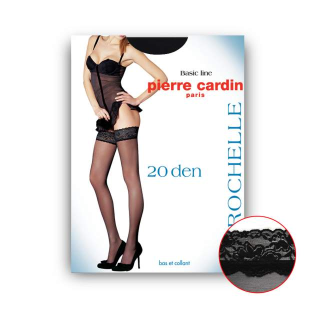 Чулки женские Pierre Cardin Cr La ROCHELLE0 черные 4