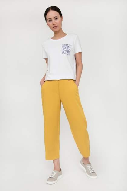Брюки женские Finn Flare S20-12076 желтые XL