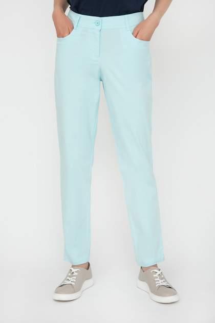 Брюки женские Finn Flare S20-14004 голубые XL