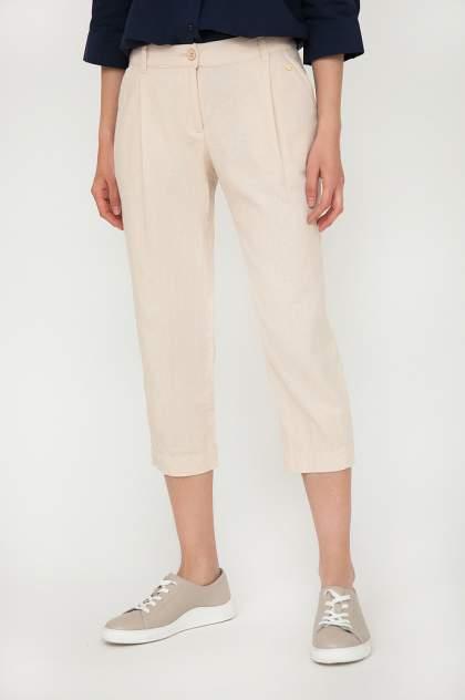 Женские брюки Finn Flare S20-14053, бежевый