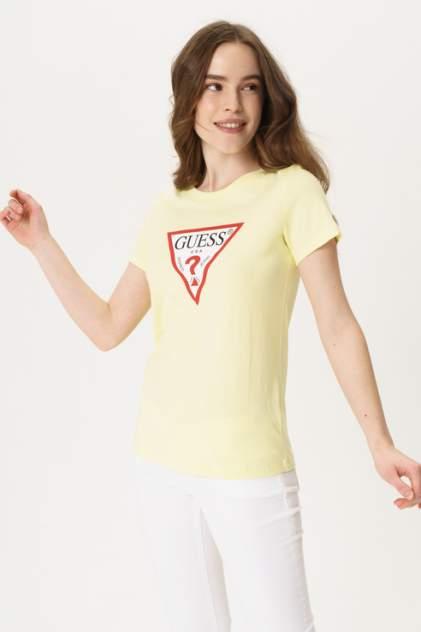 Футболка женская Guess W0GI06K8HM0 желтая S