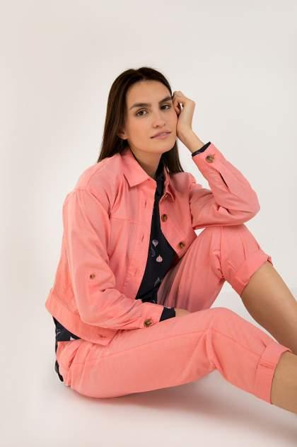 Жакет женский Finn Flare S20-32024 розовый XL
