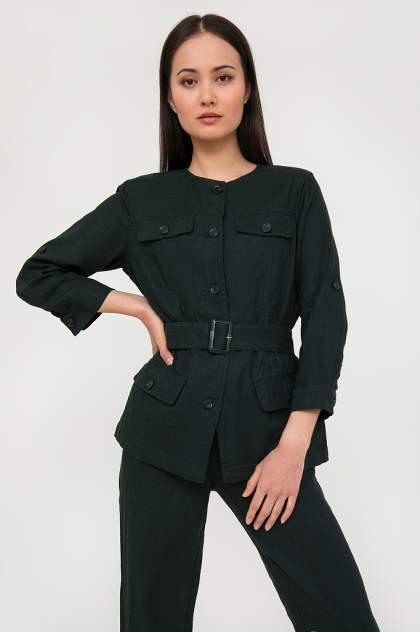 Жакет женский Finn Flare S20-11048 зеленый XL
