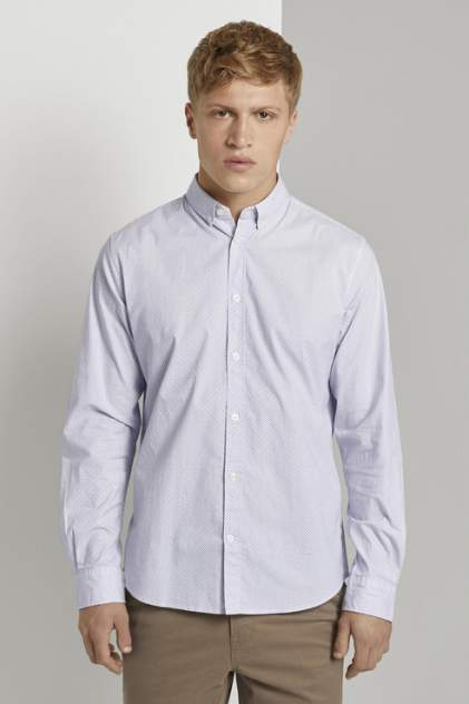 Рубашка мужская TOM TAILOR 1021064, белый