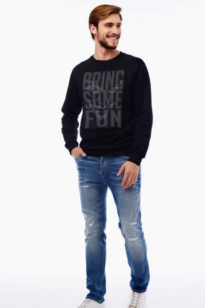 Свитшот мужской Tom Farr T M8006.58 черный 46