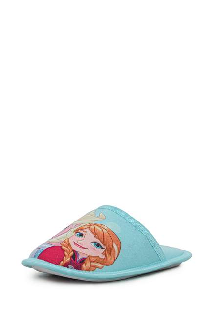 Тапочки детские Frozen, цв. голубой р.30
