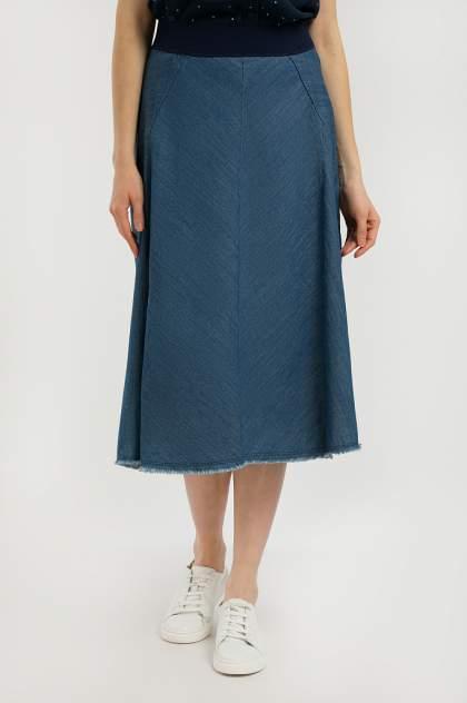 Женская юбка Finn Flare S20-15011, синий