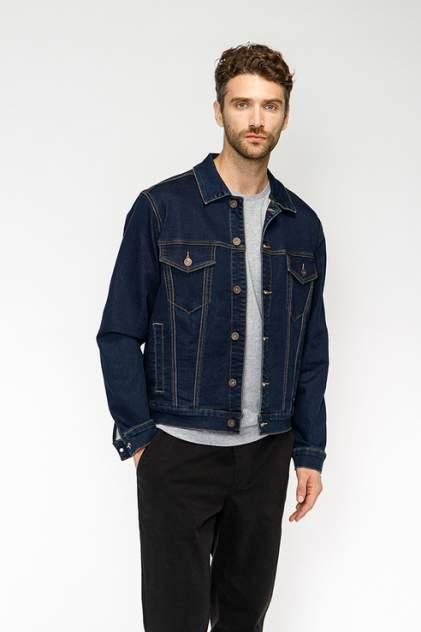 Джинсовая куртка мужская Modis M192D00124 синяя S