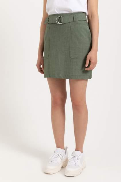 Женская юбка Sela 804011901, зеленый