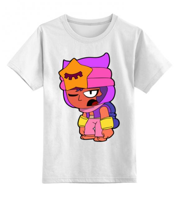 Детская футболка Printio Бравл старс цв.белый р.128