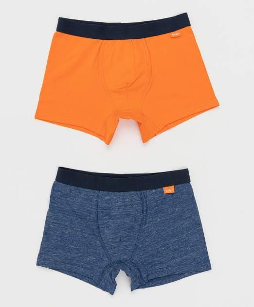 Трусы детские Button Blue, цв. синий, оранжевый
