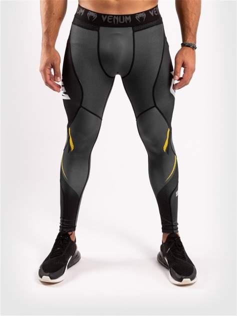 Тайтсы Venum ONE FC Impact Grey/Yellow, XL