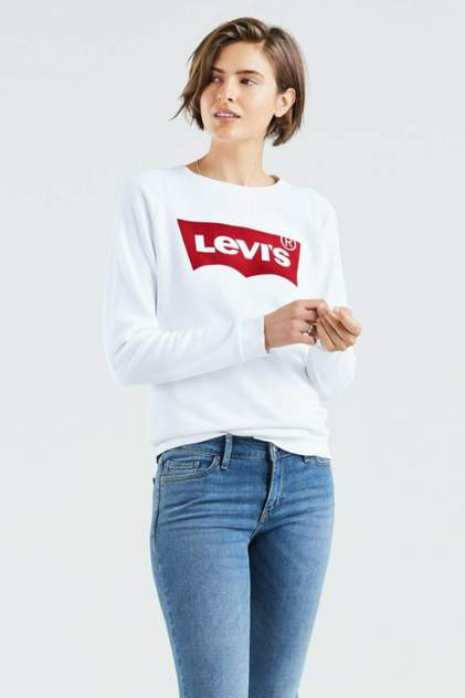 Свитшот женский Levi's 2971700140 белый 48