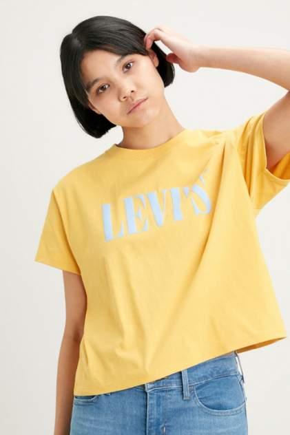 Футболка женская Levi's 6997300860 желтая L