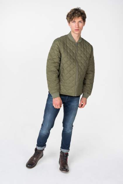 Бомбер мужской Dockers 5698000020 зеленый L