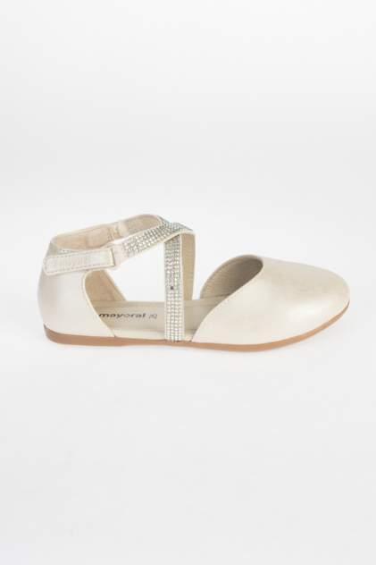 Туфли для девочек Mayoral цв. золотистый р-р. 28