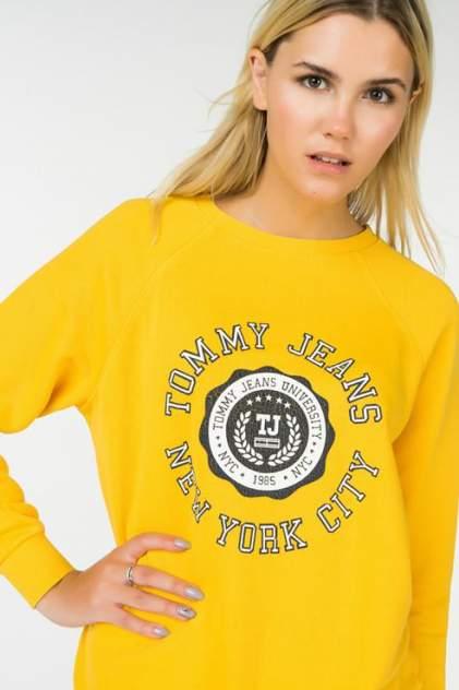 Толстовка женская Tommy Jeans DW0DW05108 желтая 48