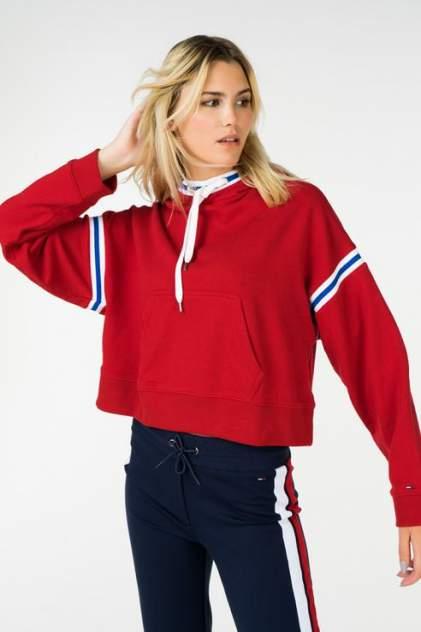 Толстовка женская Tommy Jeans DW0DW05371 красная 48