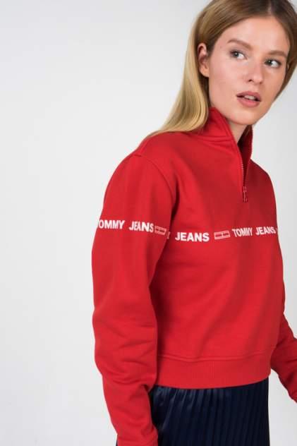 Толстовка женская Tommy Jeans DW0DW05692 красная 48
