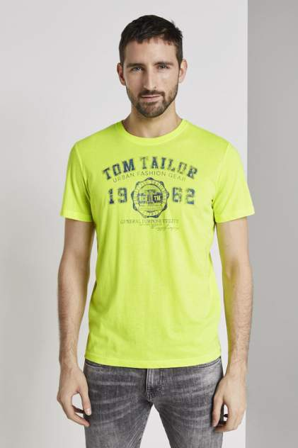 Футболка TOM TAILOR 1008637, золотистый