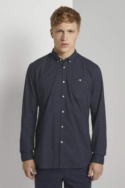 Рубашка мужская TOM TAILOR 1020190, синий