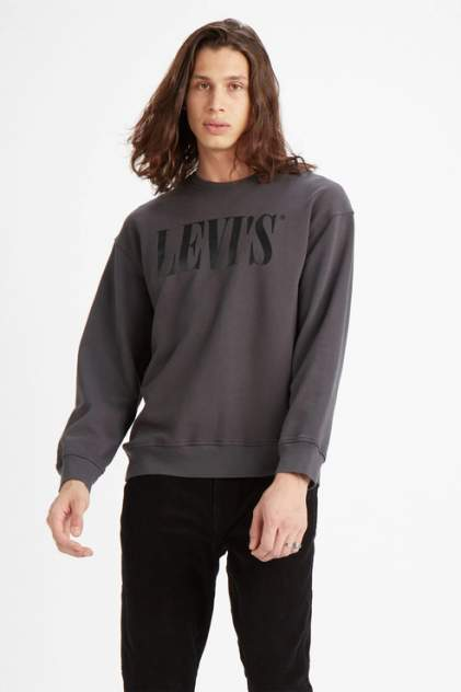 Свитшот мужской Levi's 8578800010 серый 50
