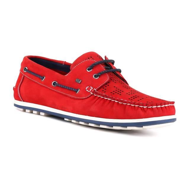 Мокасины мужские GERONIMO 7485 красные 41 RU