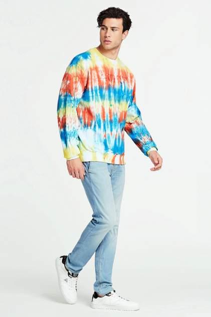 Свитшот мужской Guess M0GQ59K68I0 разноцветный 50