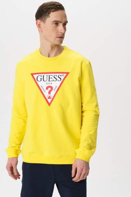 Толстовка мужская Guess M02Q37K6ZS0 желтая 50