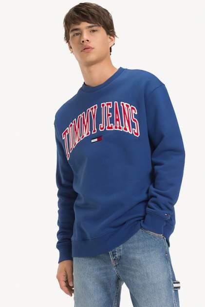 Толстовка мужская Tommy Jeans DM0DM05945 синяя 50