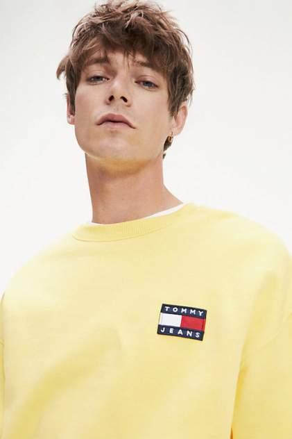 Свитшот мужской Tommy Jeans DM0DM06592 желтый 50