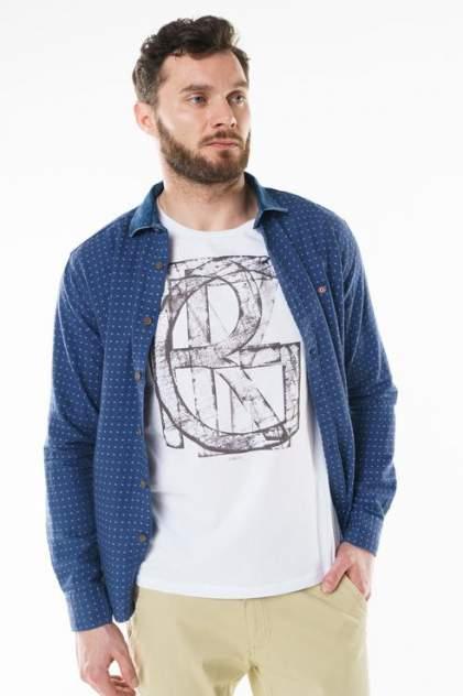 Рубашка мужская Sahera Rahmani 9011526-40, синий