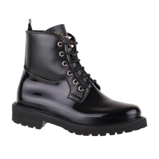 Резиновые ботинки женские MENGHI SHOES 7004 черные 39 RU