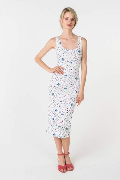Повседневное платье женское Trendy Angel TAO-0025 белое L